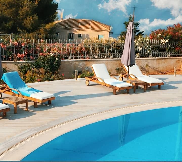 Luxury Villa with view at Kosta