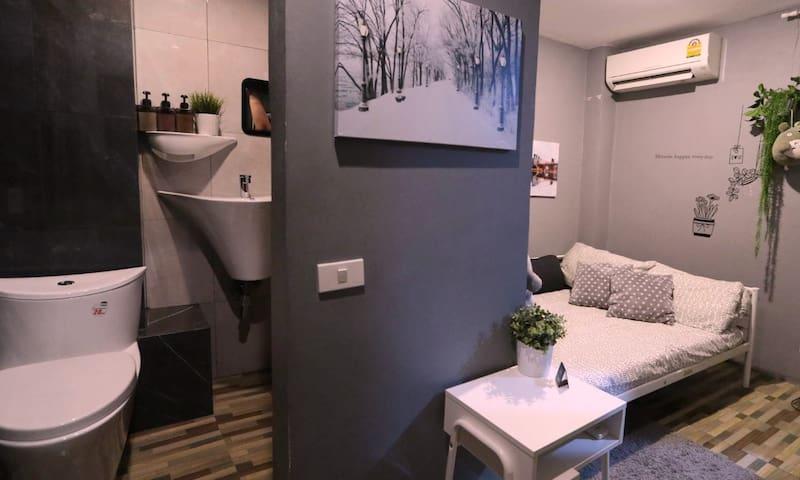 Stay Tiny/Hostel/BTS Ari/Gray Room