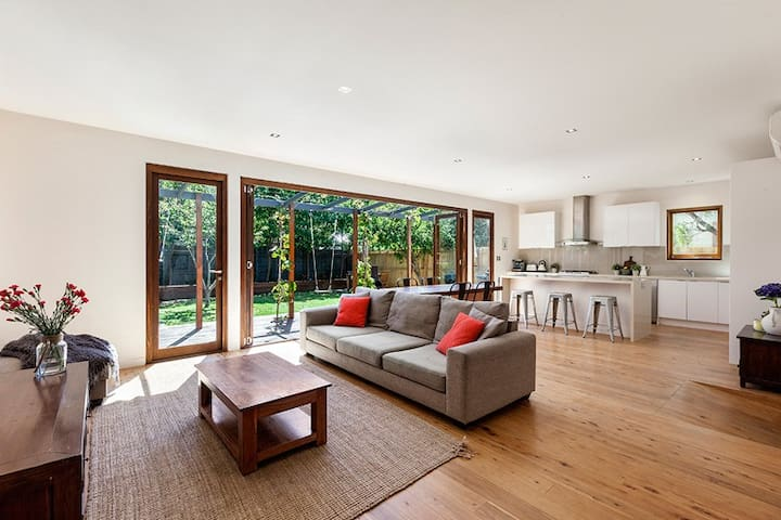 Westgarth Renovated Family Home - Northcote - Casa