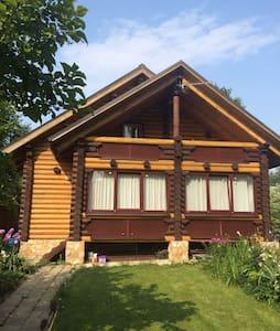 Уютный дом из бревна - Сергиев Посад - Casa
