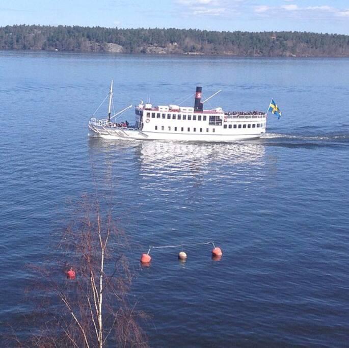 Båten till Drottningholm