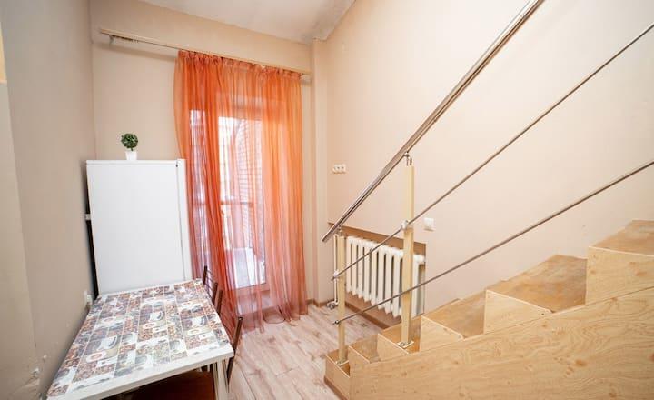 Двухэтажная квартира в центре города Томска