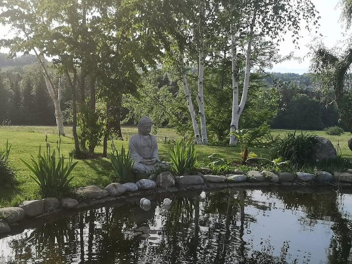 Dans un écrin de verdure entre Genève et Annecy