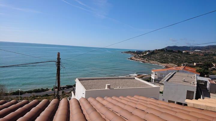 Apartamento con vistas al mar, especial parejas.