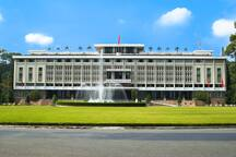 The Tresor is in city center, closes to most of popular tourist spotsighseeing places within few minutes by taxi  - Reunification Palace