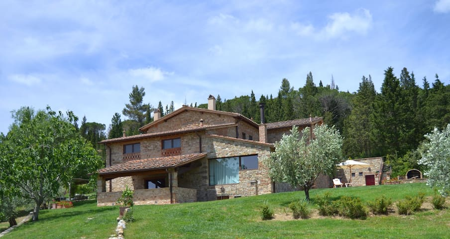 Villa Valle, pool & basketball - Greve in Chianti - Villa
