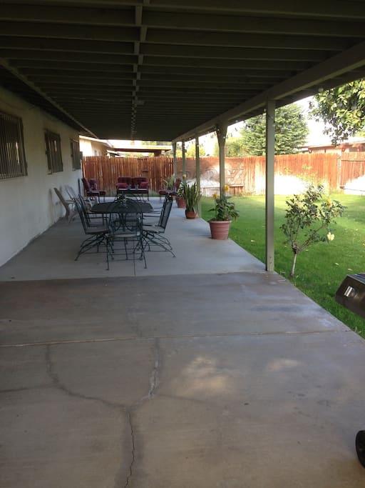 patio backyard