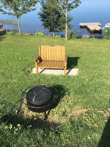 Fire pit available for use small fee for fire wood