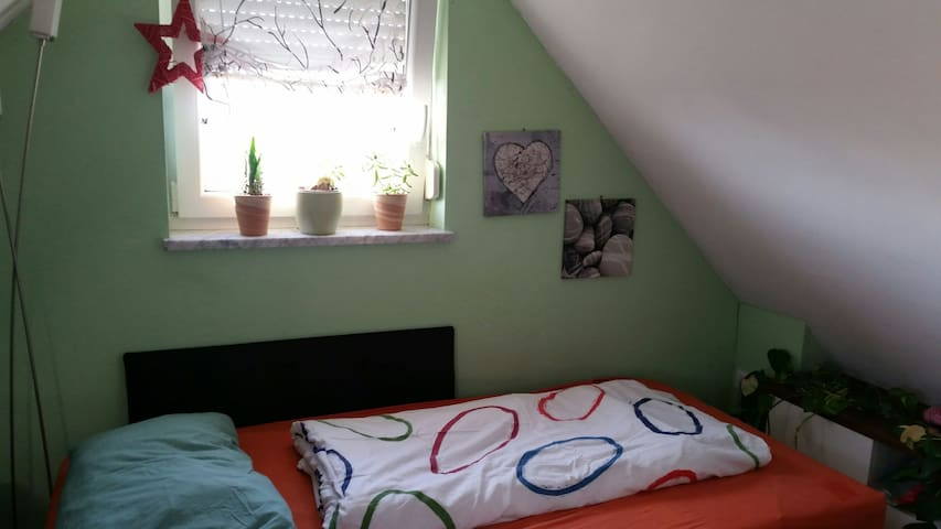 Small but lovely, close to the city and the Messe