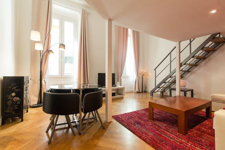 AzurAppart Elegant studio Nice, 80m Promenade
