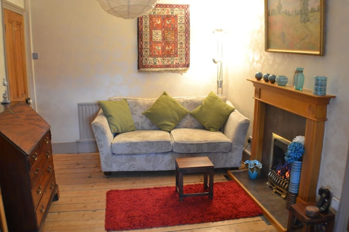 Cosy Terraced House with  2 friendly house cats