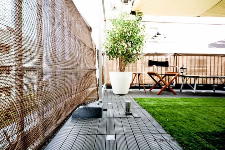 ASAKUSA-Triplex(2-4F)+terrace with City View