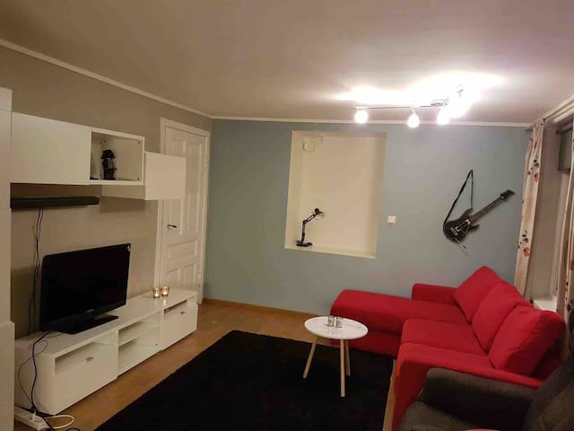 Apartment  5 min walk to Bergen Light Rail Bybanen