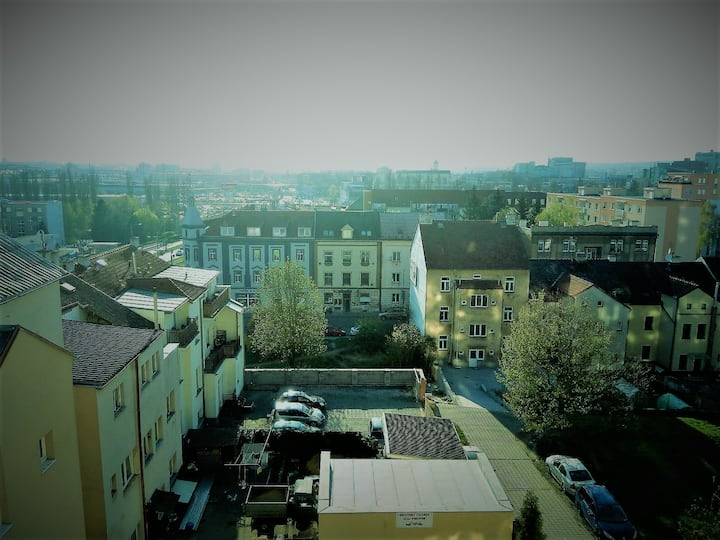 Apartment with a beautiful view of Pilsen
