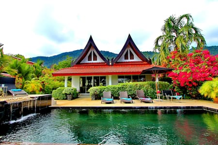 Koh Chang Beach Front 5 Bedrooms with Private Pool