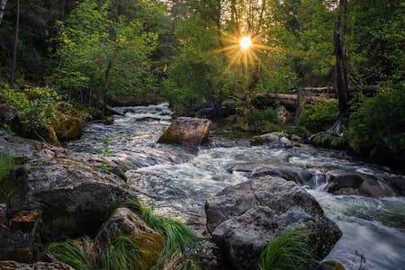 """""""The Chalet"""" at Bass Lake/Yosemite"""