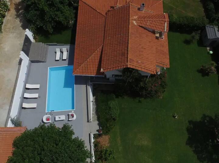 liberty vith private pool amazin sea view