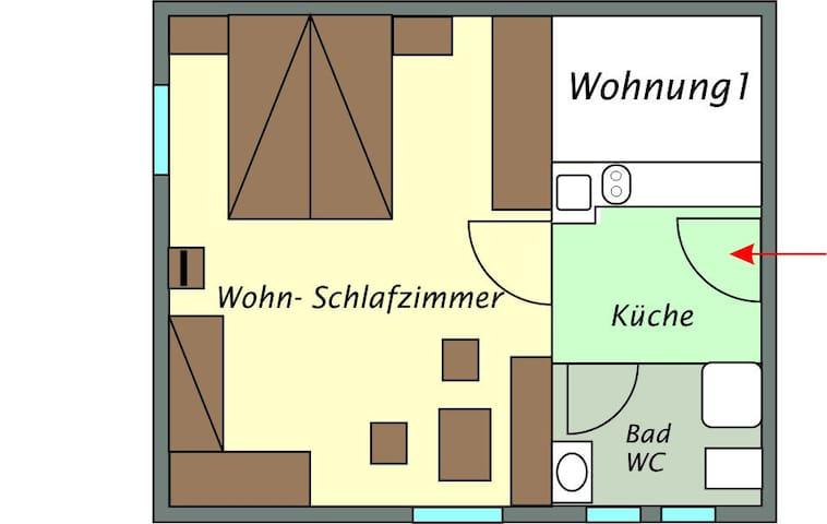 Ferienwohnung für max. 4 Personen - Lech - Apartamento
