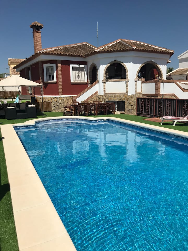 Casa Sophia, open plan villa with private pool
