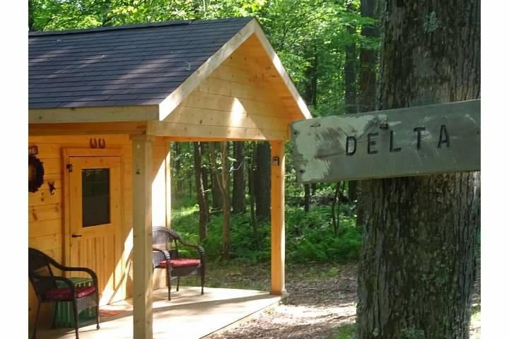 Glamping - Cozy Hut Delta