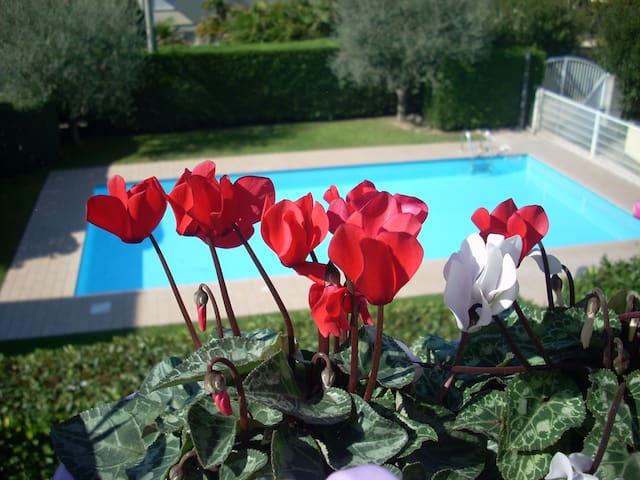 Splendida casa con piscina per vacanze in relax... - Lazise - Wohnung