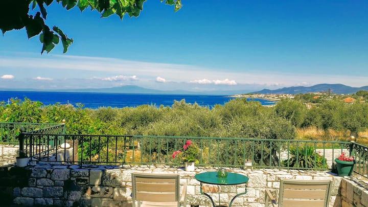 Villa Pefnos - ein schönes Ferienhaus am Meer