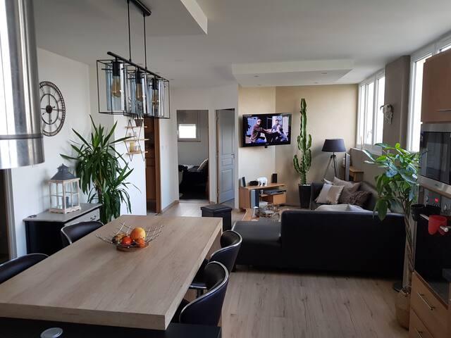 Appartement 24h du mans auto/moto et Grand Prix