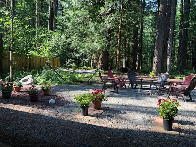 Bella Vista Cabin: Rainier, Hiking, HotTub & WiFi!