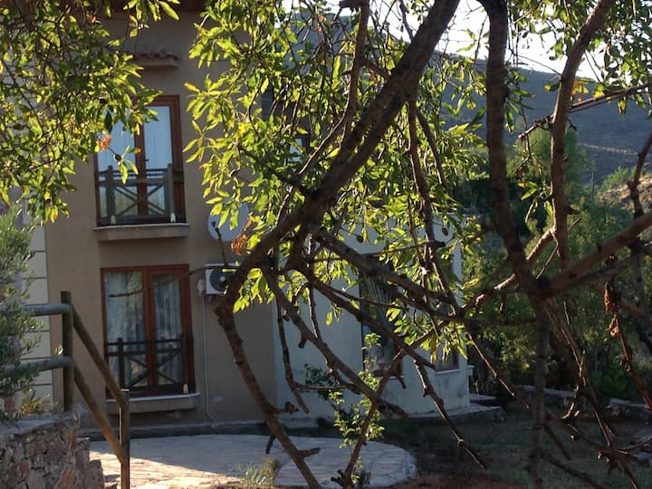 An amazing sea-viewed house in Selimiye...
