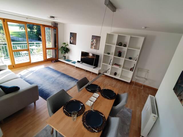 Schöne 2,5 Zi.-Wohnung mit Balkon in S-Schönberg