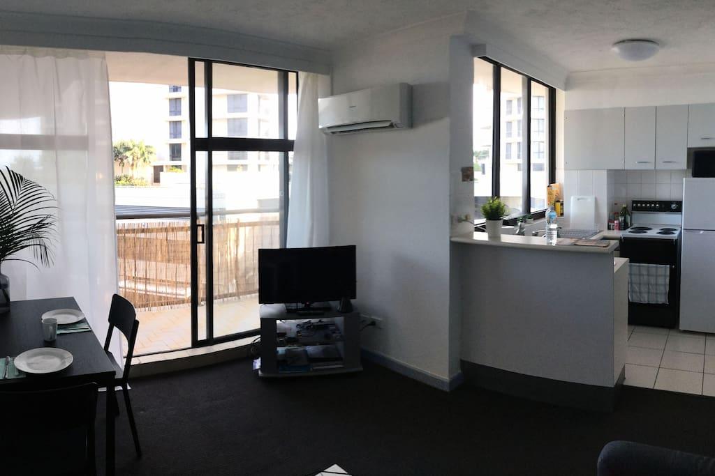 Studio with air-con
