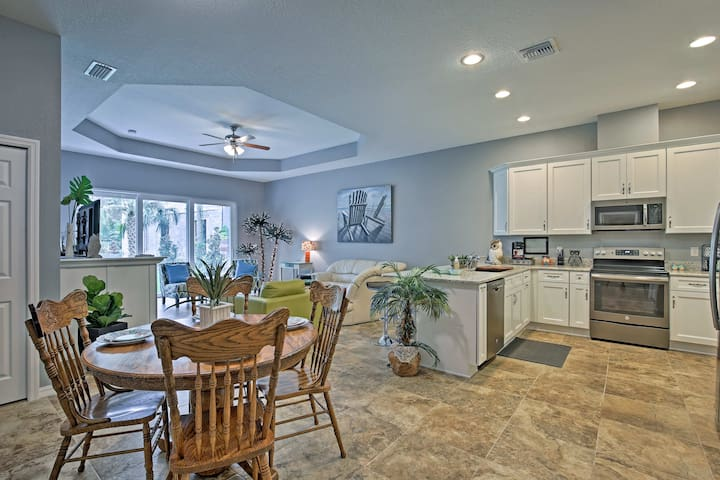 Take a group of 8 to stay at this 3-bed, 2-bath vacation rental house.