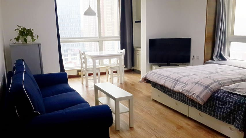 市中心宽敞明亮电梯公寓/公交直达机场兵马俑 - Xi'an - Apartamento