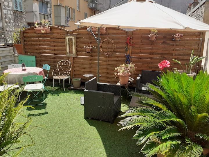 appartement 2 chambres quartier du port de Nice