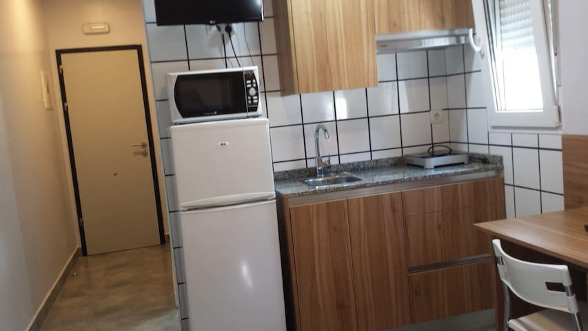 Estudio 104 cocina y baño propios