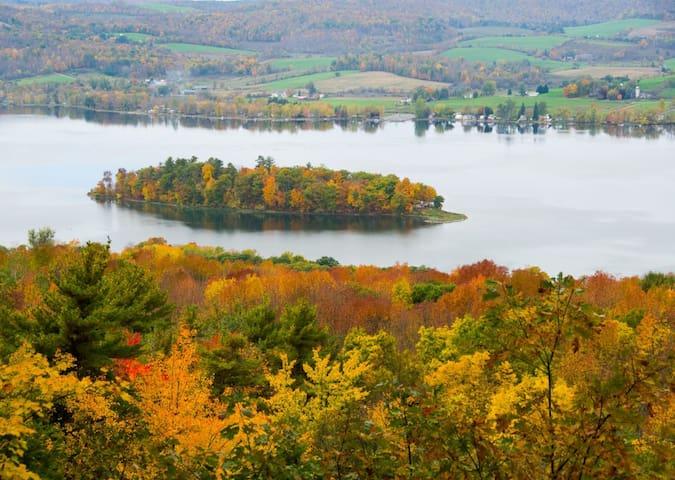 """Camp Moonshine""   Fall Foliage!!!!!"