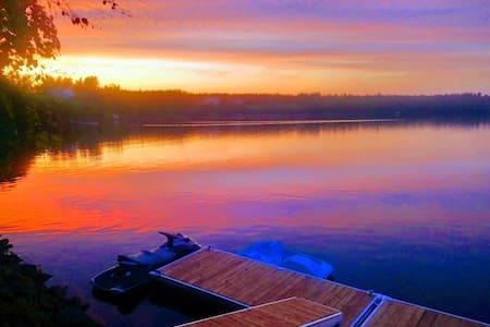Chalet moderne Vauvert au Lac-St-Jean