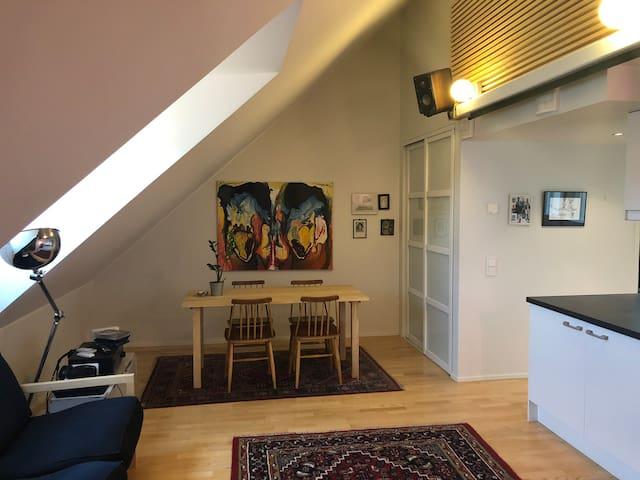 Unique loft apartment in Sörnäinen