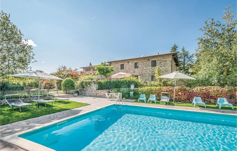 Holiday apartment with 2 bedrooms on 57m² in Greve In Chianti FI