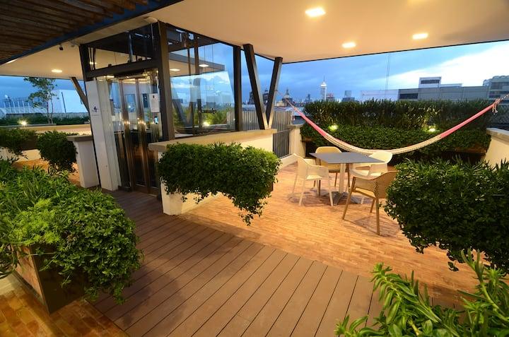 Cool Apt. Breathtaking Roofgarden Centro Historico