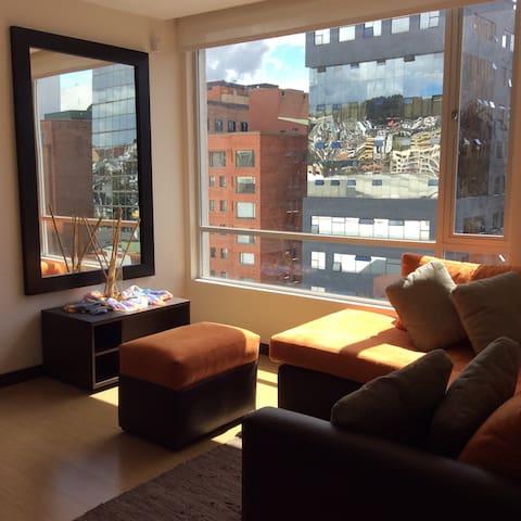 Cozy Suite - República del Salvador - Quito - Apartment