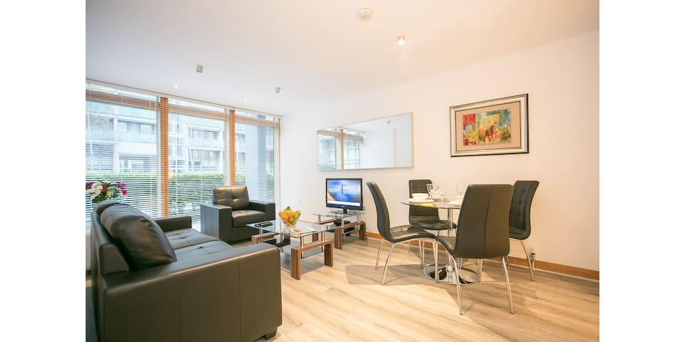 Modern 3 bedroom apartment in IFSC