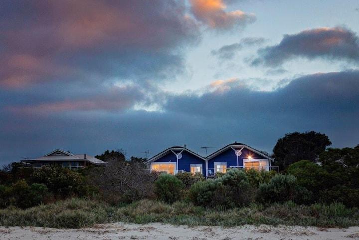 Island Beach Home with a panoramic sea view