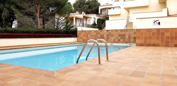 Quiet house + salt pool + fantastic terrace