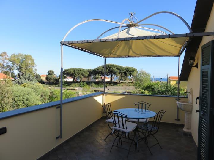 Appartamento Azzurro Borgo Prino.