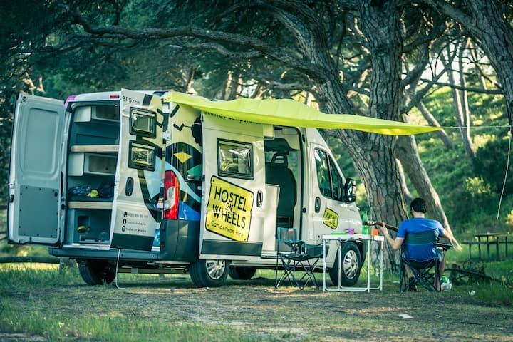 Hostel on Wheels - Algarve Campervan Experience