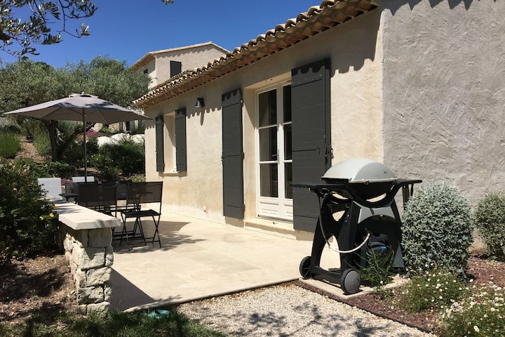 Modern holiday cottage with swimming pool and close to beautiful Saint-Remy-de-Provence.
