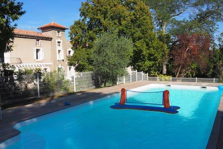 Maison de maître 14 pers. près de Carcassonne - Arzens