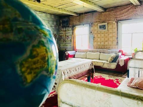 Batjargal's guest house in Dadal, Mongolia