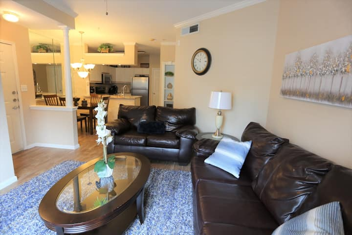 Texas Medical Center 1 BR condo in gated community